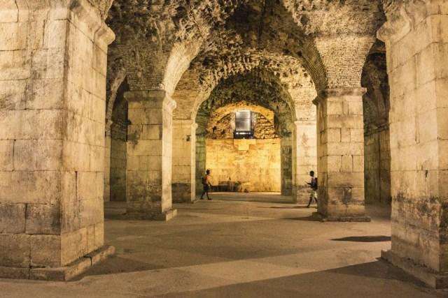 Sous-terrain Palais Dioclétien