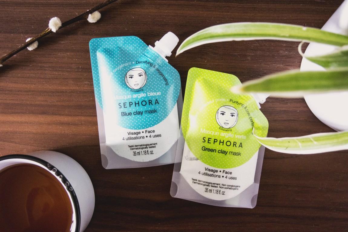 Masque Sephora à l'argile