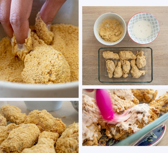 How to spicy crispy chicken