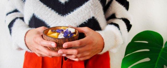 Coconut bowl DIY