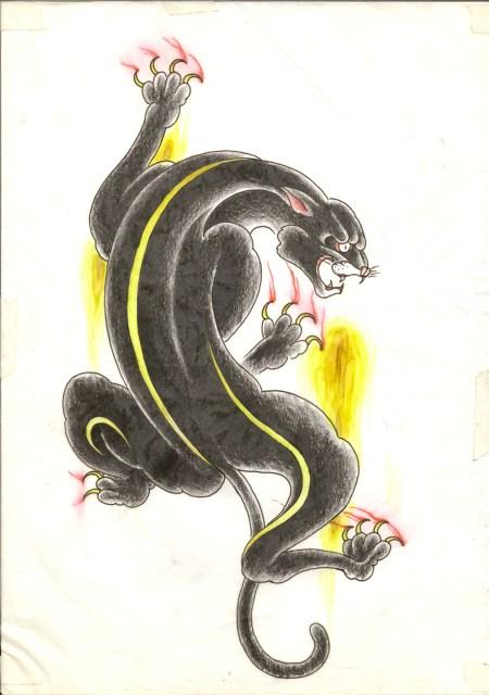 黒豹の画像