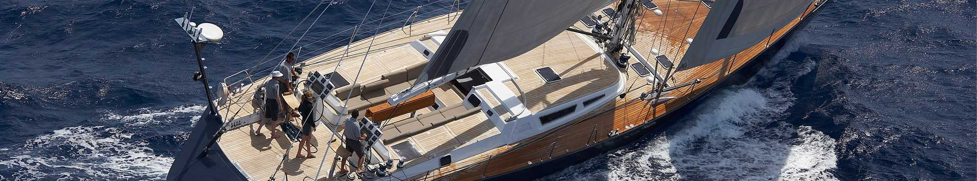 vacanza in barca a vela lusso luxury yacht 82''