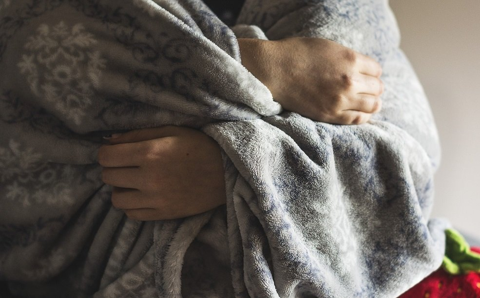 The Disease Cold Winter Blanket Frost Hands