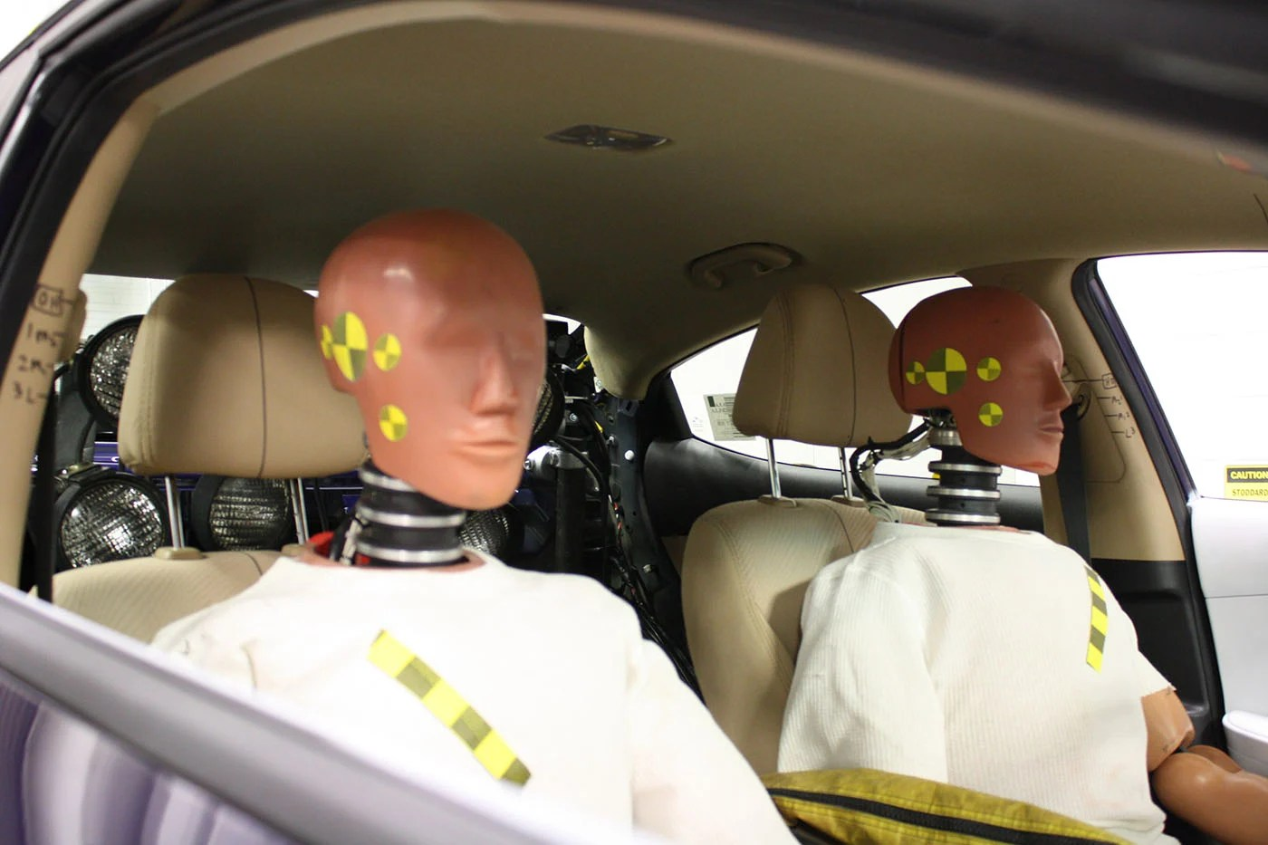 Because safety needs change as drivers' bodies age, researchers have created a new type of crash test dummy based on people over the age of 65.