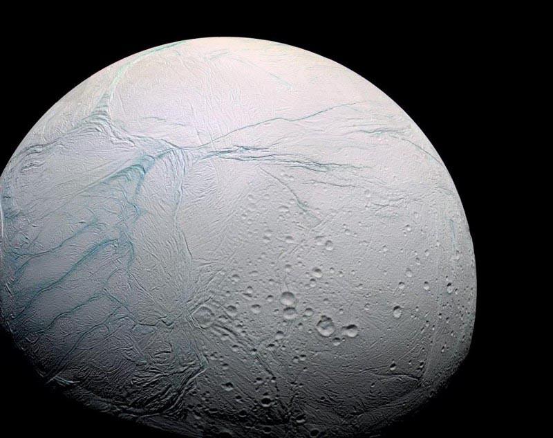 Saturn moon Enceladus