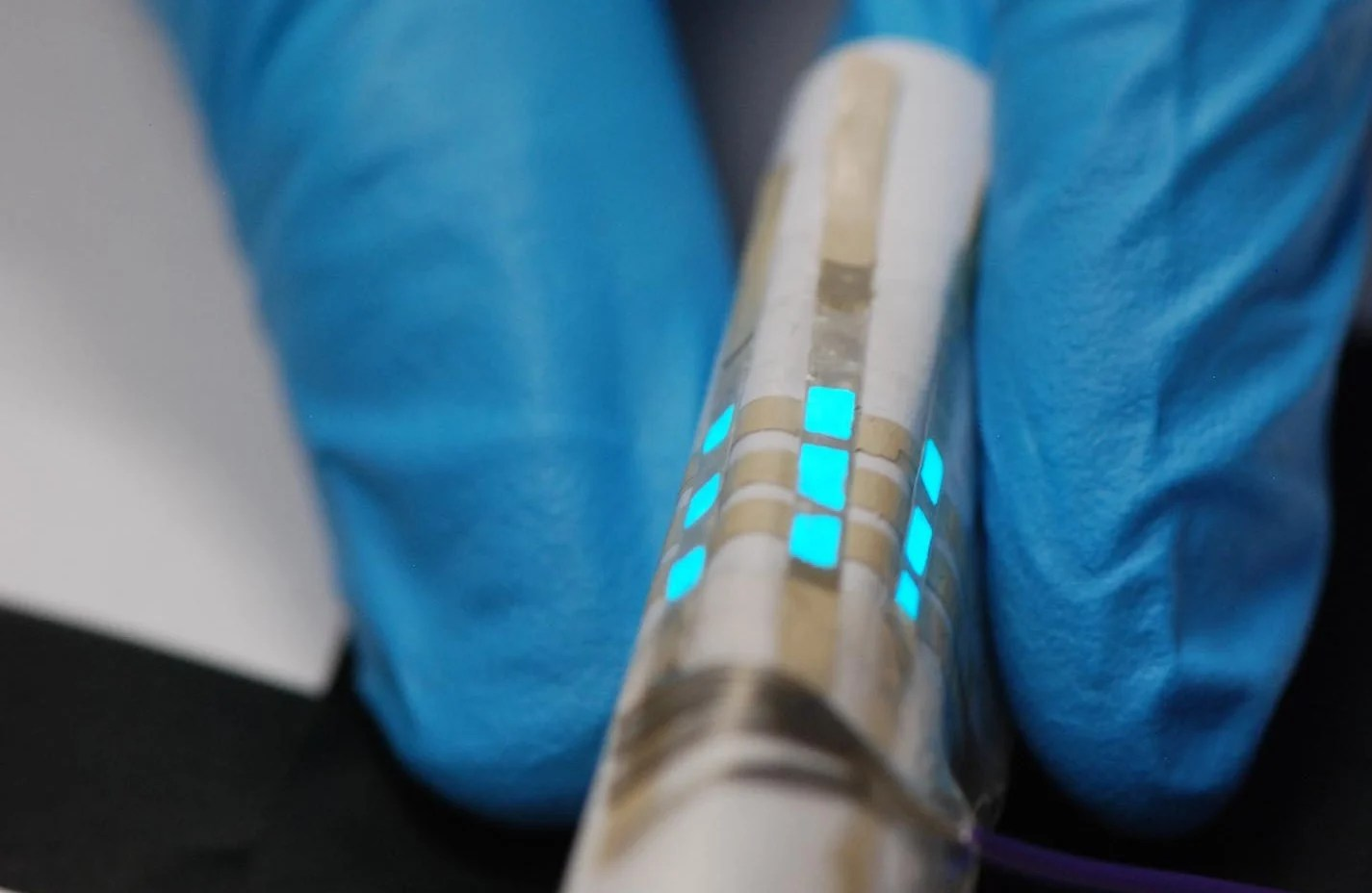 Sandwiching doped zine sulphide between graphene in textiles can create glowing clothes.