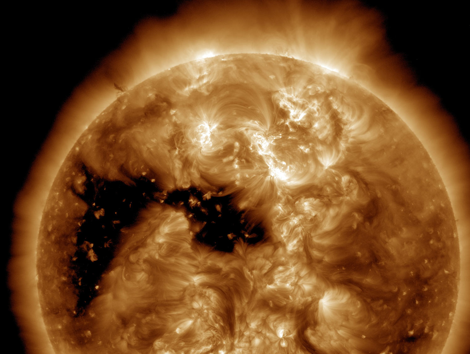 Image Credit - NASA/SDO and the AIA, EVE, and HMI science teams.