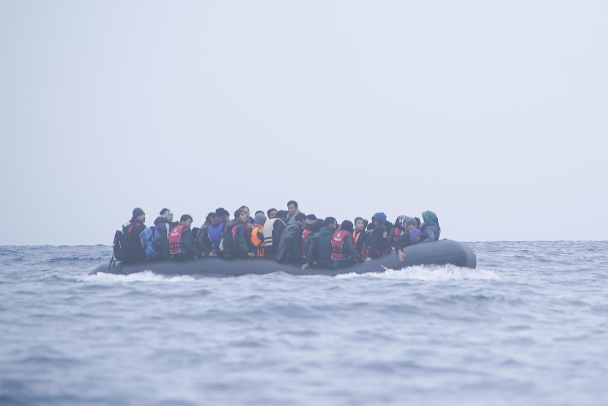 One-third of asylum seekers and refugees show clinically relevant psychological distress, according to scientists. Image credit - Mstyslav Chernov/Unframe/ Wikipedia licensed under CC BY SA 4.0