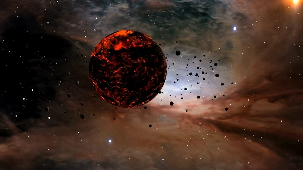 The way that a young exoplanet interacts with its star's disc of dust and gas determines the type of exoplanet that will ultimately form. Image credit - NASA/JPL-Caltech/D. Berry