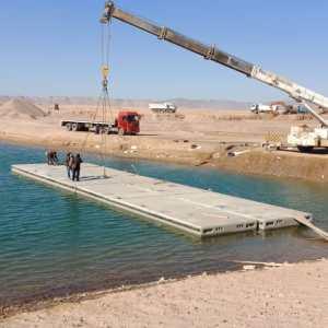 Bentonite (floating concrete)