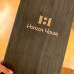horizon house menu cover