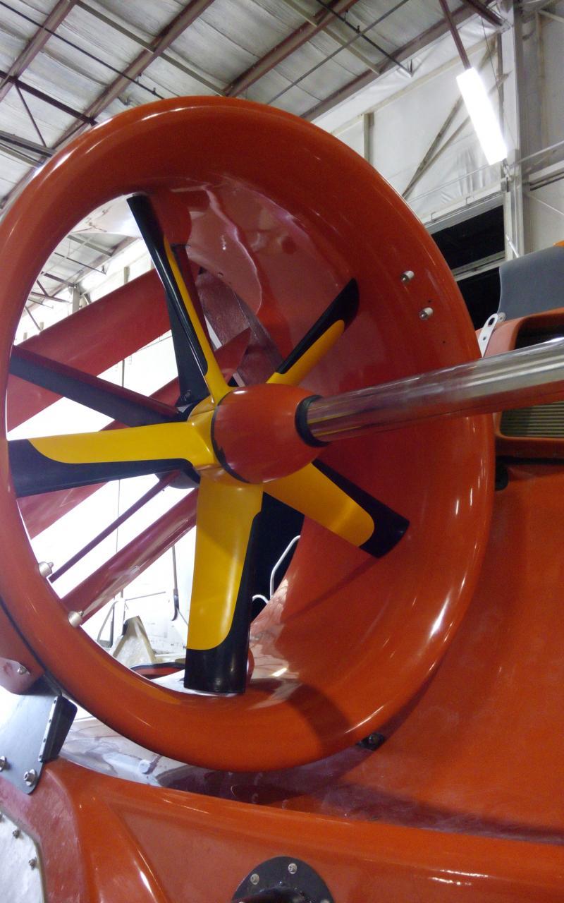Hover Craft Built In USA Air Form AF 46 Passenger Horizon Ship Brokers Inc