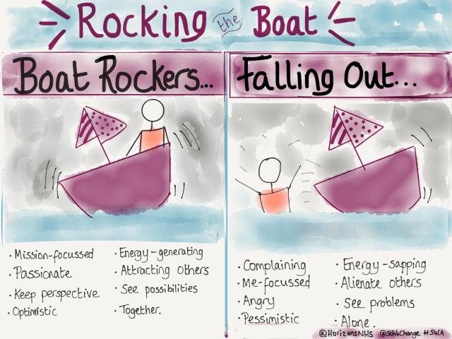 Boat rockers vs Falling Out