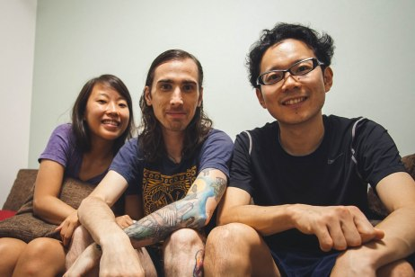 We were lucky enough to stay with this man for two nights on our trip thanks to couchsurfing!