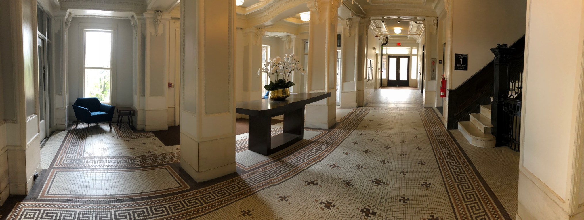 Apartment Building - Lobby