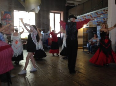 Samedi 9 Juin - Initiation aux sévillanes - Acento Flamenco y Aire Andaluz, avec le public