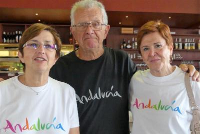 Dimanche 10 Juin - La fine équipe Horizontes Del Sur - Milchelle Rossi et Michel et Sole Maurere