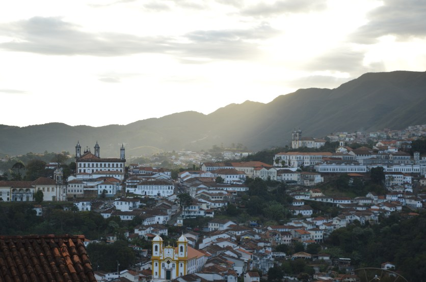 Views of Ouro Preto as captured by Mary's camera