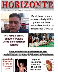Rebista Horizontezac.com.mx