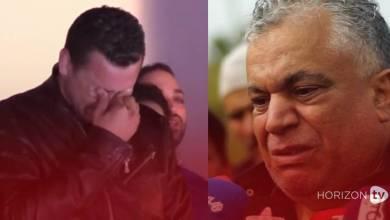 صورة ابن الخياري ينهار بالبكاء متأثرا بوفاة جدته
