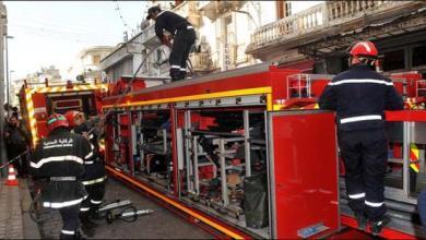 Photo of عاجل..حريق مهول بأحد فروع مركز تجاري معروف وسط البيضاء