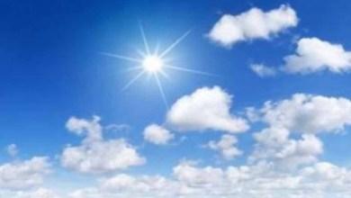 Photo of توقعات أحوال الطقس لنهار اليوم الاثنين