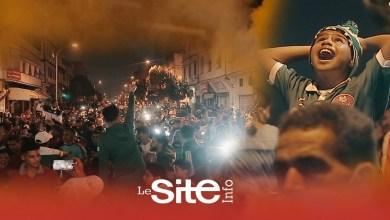 صورة احتفالات هيستيرية لجماهير الرجاء بدرب السلطان بعد الفوز بلقب البطولة وهذا ما قالته عن مباراة الوداد