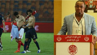 """صورة رحيل الرئيس وتجديد الدماء.. جمهور الوداد يُطالب بـ""""الثورة"""""""