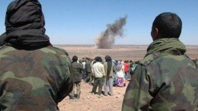 """صورة حرق شابين صحراويين وهما أحياء على يد جنود جزائريين """"فعل همجي غير مقبول"""""""