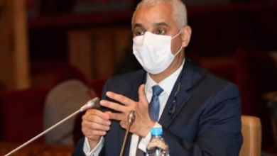 """صورة وزير الصحة يتفقد بإقليم خنيفرة مجريات الحملة الوطنية للتلقيح ضد """"كوفيد 19"""""""