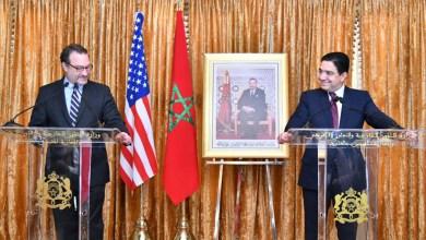 """صورة العلاقات بين المغرب والولايات المتحدة الأمريكية تتطور بإيقاع """"غير مسبوق"""""""