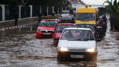"""صورة اجتماع طارئ بالدار البيضاء لتدارس آثار """"الأمطار القوية"""""""