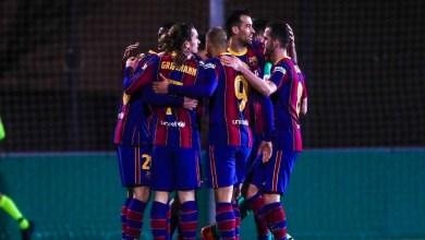 صورة بعد تضييعه لركلتي جزاء.. برشلونة ينتصر بهدفٍ في الأشواط الإضافية ويسلم من فخ كورنيا- فيديو