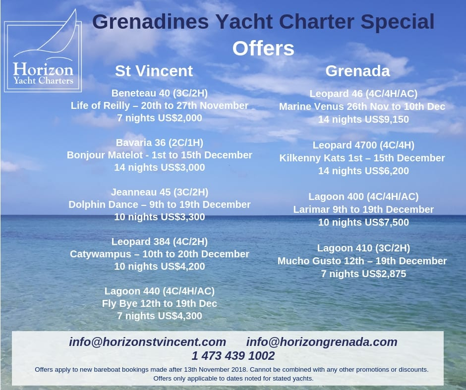 Late Booking Special Lagoon 440 Horizon Yacht Charters