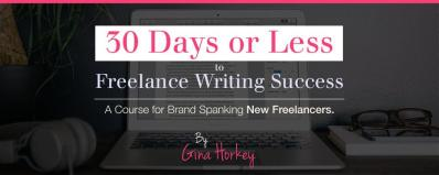 30 Days or less to Freelancing Success
