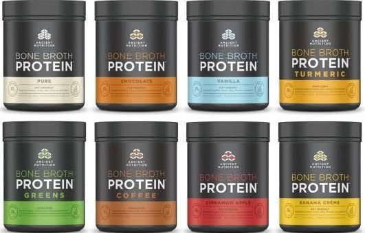 Ancient Nutrition's Bone Broth Protein Powder Update!
