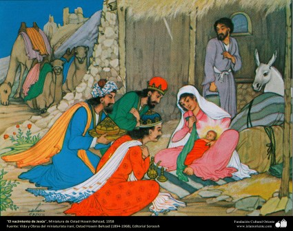Hossein-Behzah-Birth of Jesus-Magi