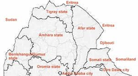 Northern Ethiopia in 1995