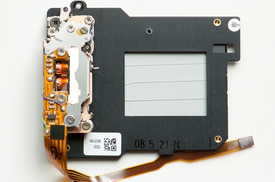 D2H shutter module - lens side