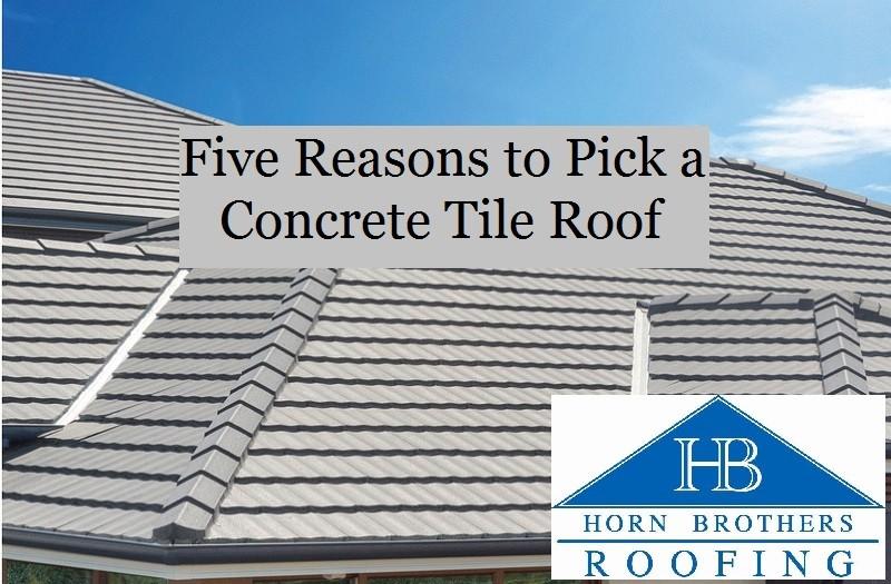 five reasons to pick a concrete tile