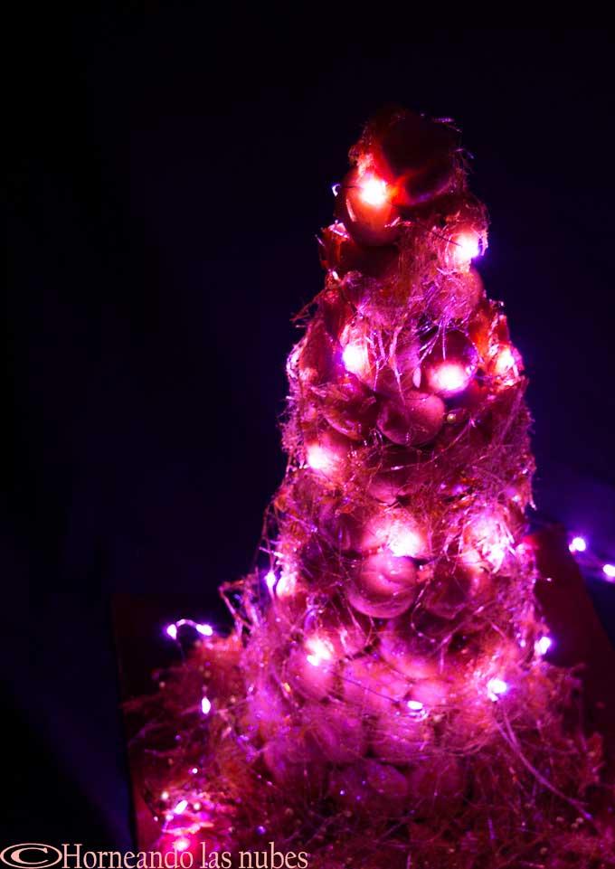 Croquembouche iluminado