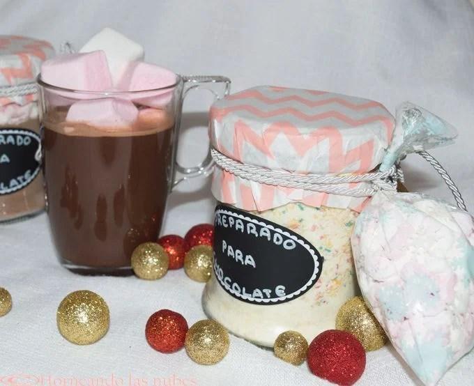 Preparado para chocolate