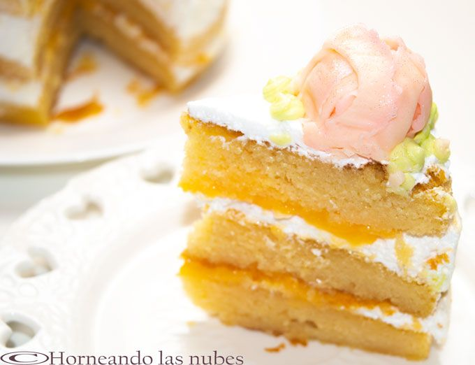 Naked Cake de limón y merengue