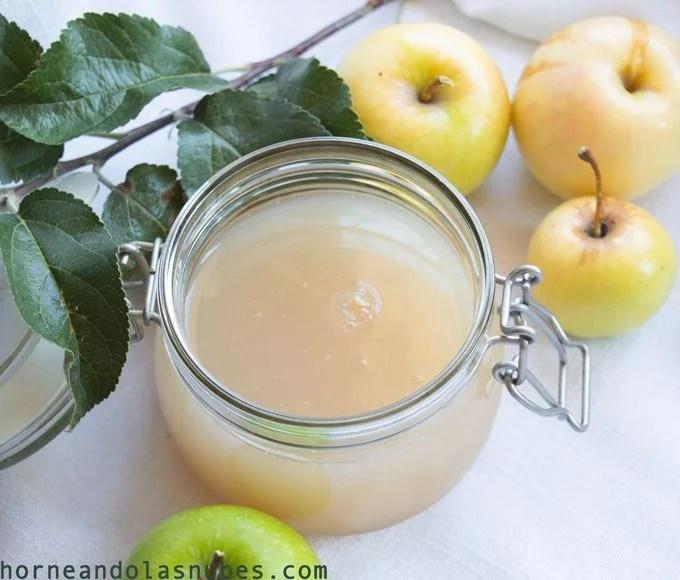 Pectina de manzana casera
