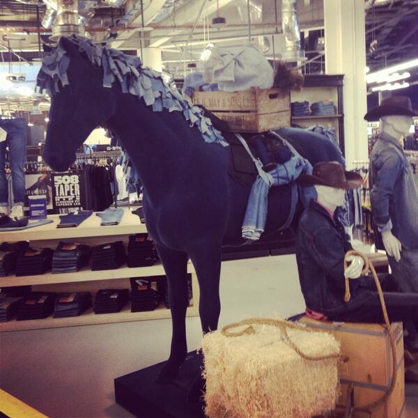 Selfridges Horse Model