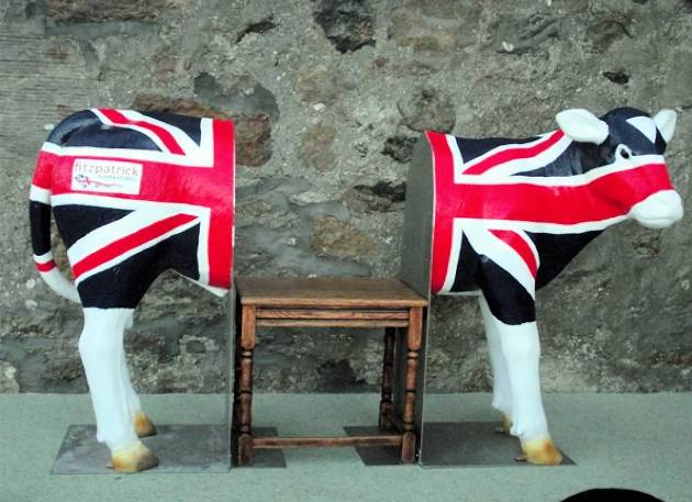 Life Size Standing Model Calf