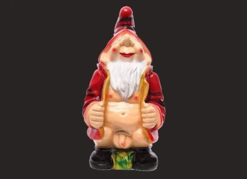 Big Flash Garden Gnome Model