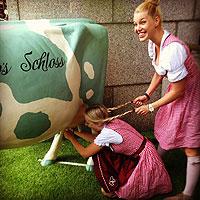Bodo`s Schloss Model Milking Cow