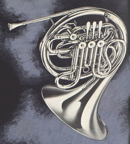 Vintage French Horn