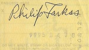 Farkas-signature